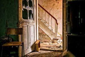 空き家の老朽化